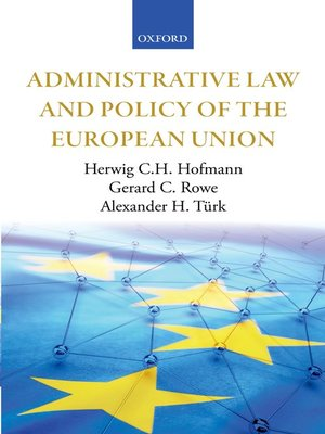 cover image of Administrative Law and Policy of the European Union