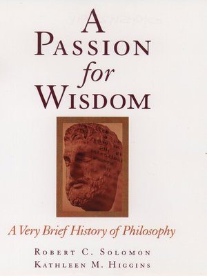 cover image of A Passion for Wisdom