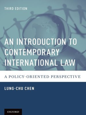 cover image of An Introduction to Contemporary International Law