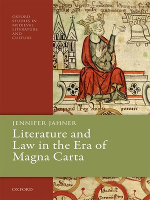 cover image of Literature and Law in the Era of Magna Carta