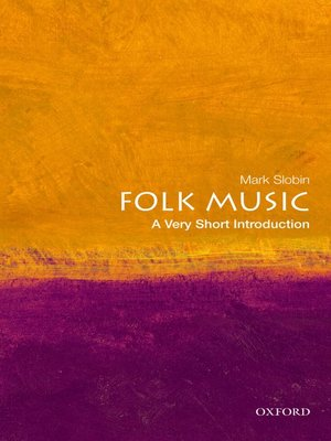 cover image of Folk Music: A Very Short Introduction