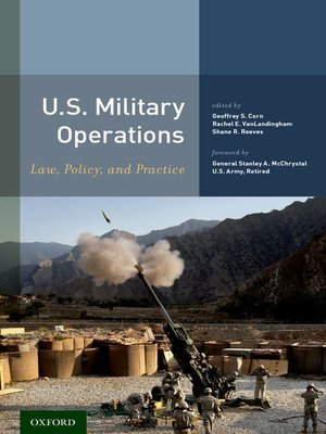 cover image of U.S. Military Operations