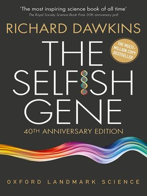cover image of The Selfish Gene