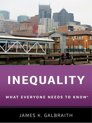 cover image of Inequality