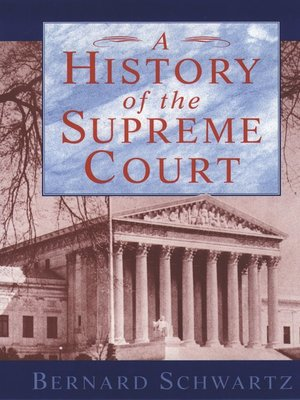 cover image of A History of the Supreme Court