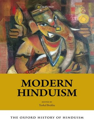 cover image of The Oxford History of Hinduism: Modern Hinduism