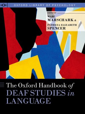 cover image of The Oxford Handbook of Deaf Studies in Language
