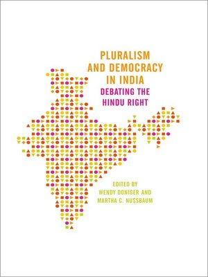 cover image of Pluralism and Democracy in India