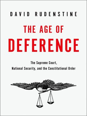 cover image of The Age of Deference