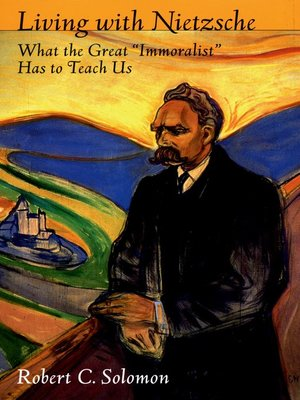 cover image of Living with Nietzsche