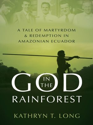 cover image of God in the Rainforest
