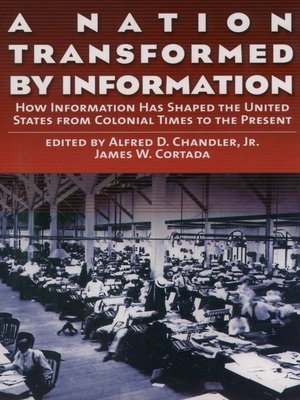 cover image of A Nation Transformed by Information