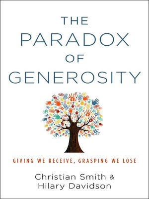 cover image of The Paradox of Generosity