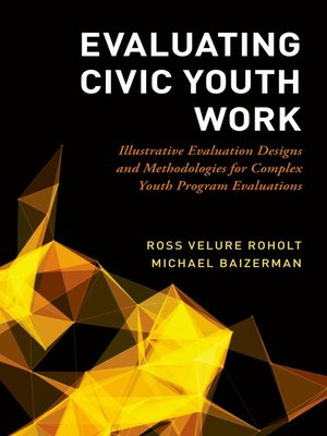 cover image of Evaluating Civic Youth Work