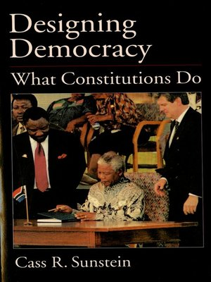 cover image of Designing Democracy