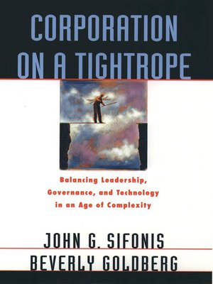 cover image of Corporation on a Tightrope