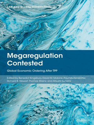 cover image of Megaregulation Contested