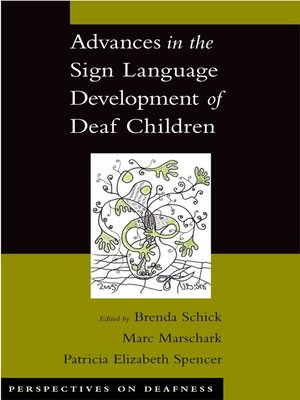 cover image of Advances in the Sign Language Development of Deaf Children