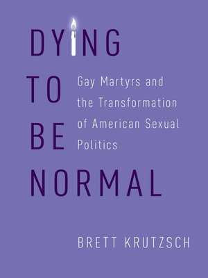 cover image of Dying to Be Normal