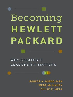 cover image of Becoming Hewlett Packard