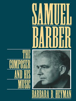 cover image of Samuel Barber