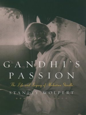 cover image of Gandhi's Passion