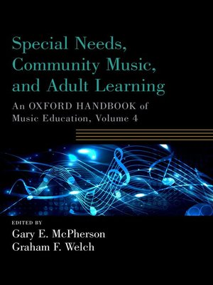 cover image of Special Needs, Community Music, and Adult Learning