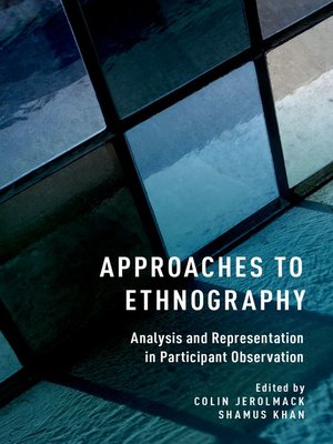 cover image of Approaches to Ethnography