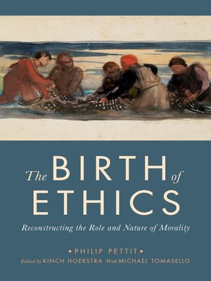 cover image of The Birth of Ethics