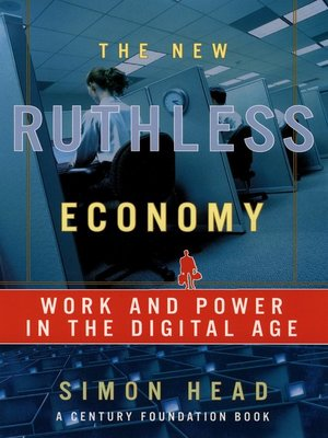 cover image of The New Ruthless Economy