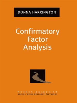 cover image of Confirmatory Factor Analysis