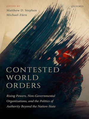cover image of Contested World Orders