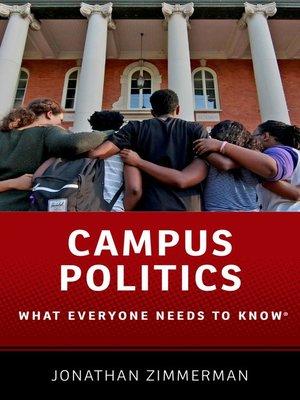 cover image of Campus Politics