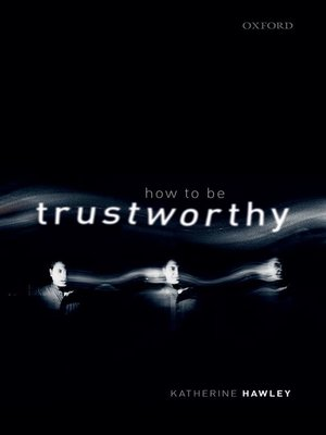 cover image of How to be Trustworthy