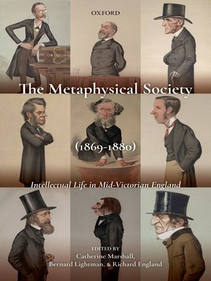 cover image of The Metaphysical Society (1869-1880)