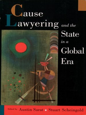 cover image of Cause Lawyering and the State in a Global Era