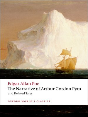 cover image of The Narrative of Arthur Gordon Pym of Nantucket and Related Tales