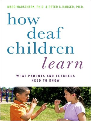 cover image of How Deaf Children Learn