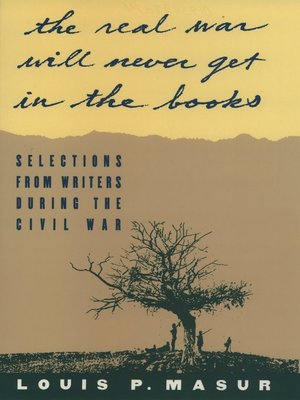 """cover image of """"...the real war will never get in the books"""""""