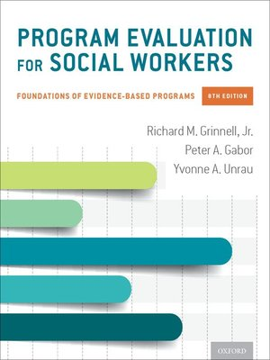 cover image of Program Evaluation for Social Workers