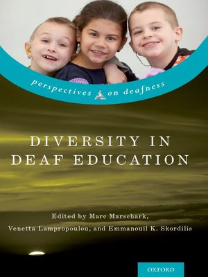 cover image of Diversity in Deaf Education