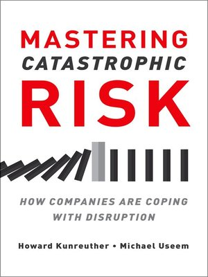 cover image of Mastering Catastrophic Risk