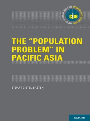 """cover image of The """"Population Problem"""" in Pacific Asia"""