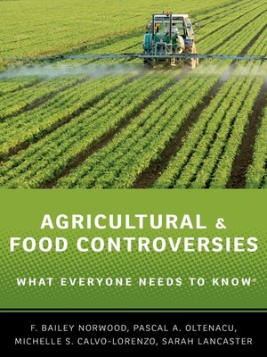 cover image of Agricultural and Food Controversies
