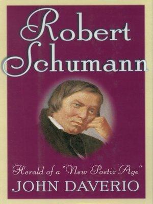 cover image of Robert Schumann