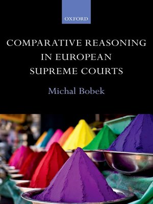 cover image of Comparative Reasoning in European Supreme Courts