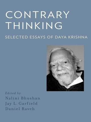 cover image of Contrary Thinking