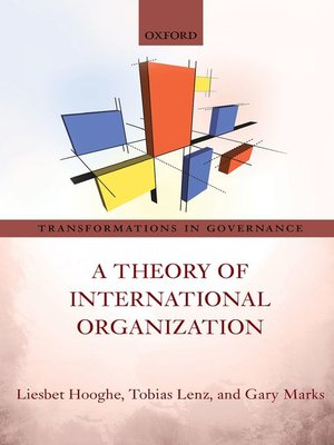 cover image of A Theory of International Organization