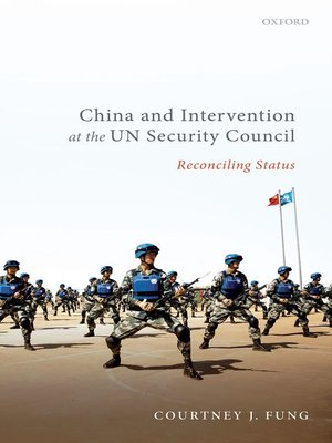 cover image of China and Intervention at the UN Security Council