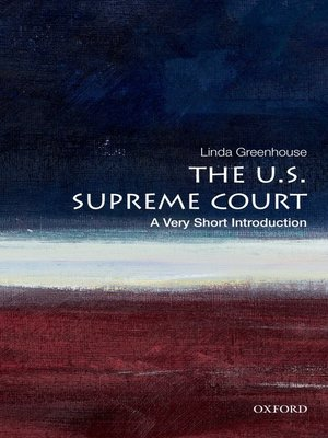 cover image of The U.S. Supreme Court: A Very Short Introduction